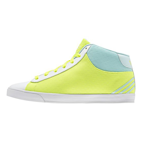 Women's Adidas Neo Daily Mid Shoes Solar Yellow