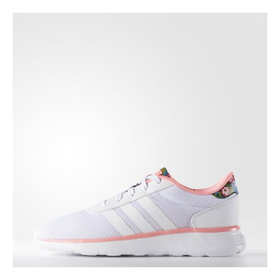Women's Adidas Neo Lite Racer Shoes Running White Ftw