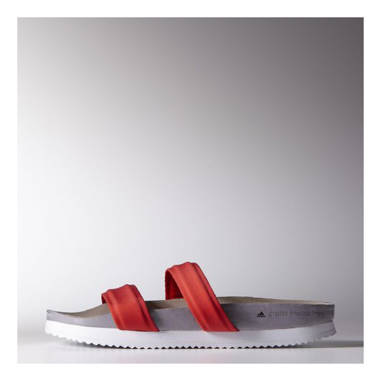 Women's Adidas by Stella McCartney Diadophis Slides Bolt Red