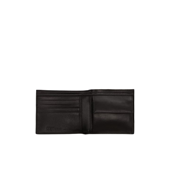 ALEXANDER MCQUEEN LEATHER COVERED STUDDED WALLET