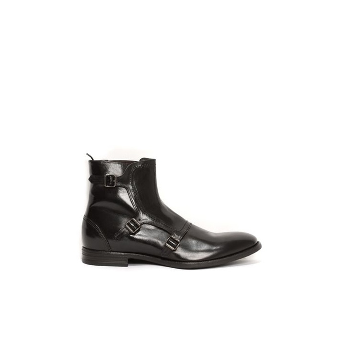ALEXANDER MCQUEEN GABLE 3 BUCKLE BOOT
