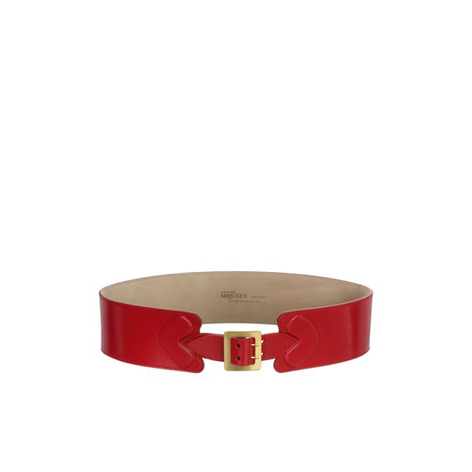 ALEXANDER MCQUEEN HEART BUCKLE BELT