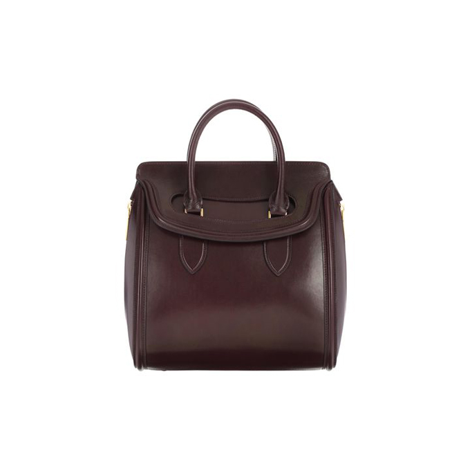 ALEXANDER MCQUEEN MEDIUM LEATHER HEROINE