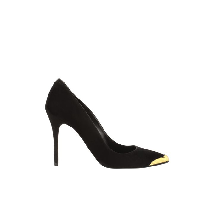 ALEXANDER MCQUEEN TOE-CAP POINTY STILETTO PUMP