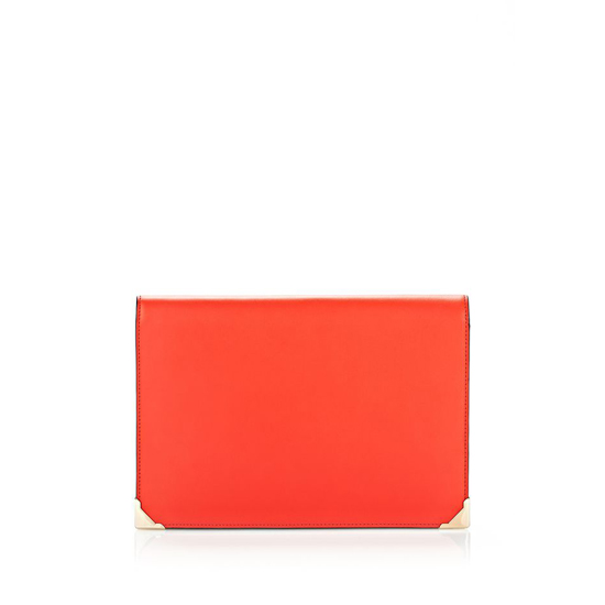 RED ALEXANDER WANG CHINESE NEW YEAR EDITION PRISMA COMPACT PURSE