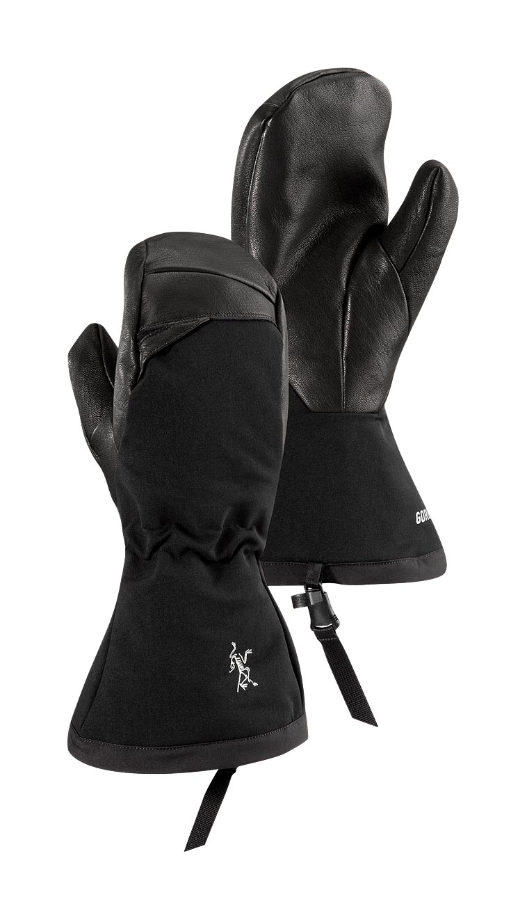 Arcteryx Men Black Zenta AR Mitt