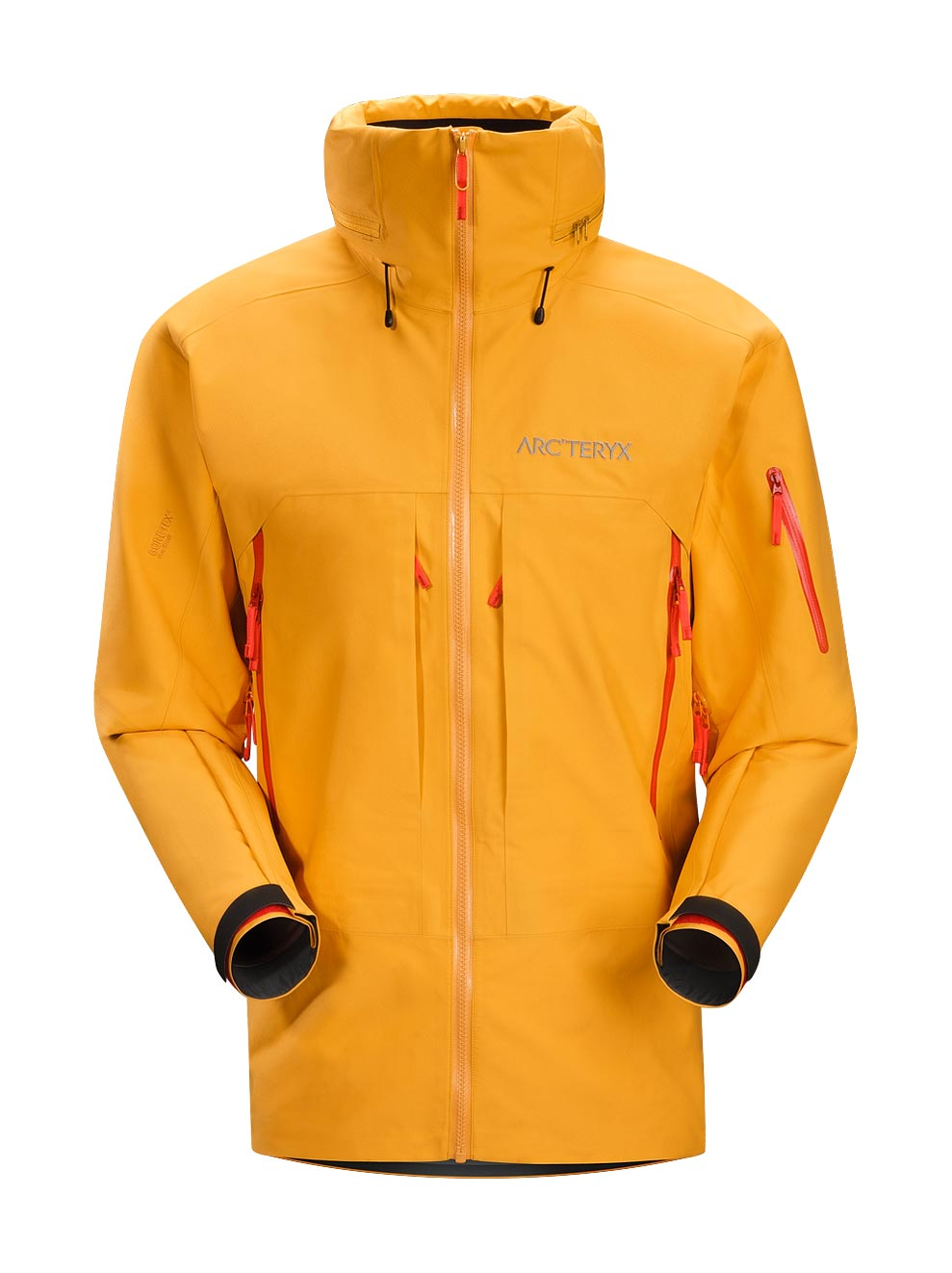 Arcteryx Jackets Men Amber Ale Vertical Jacket