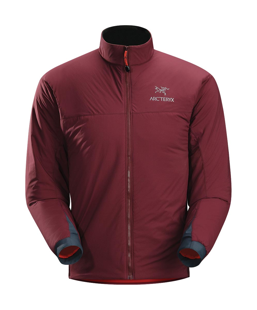 Arcteryx Men Tibetan Red Atom LT Jacket