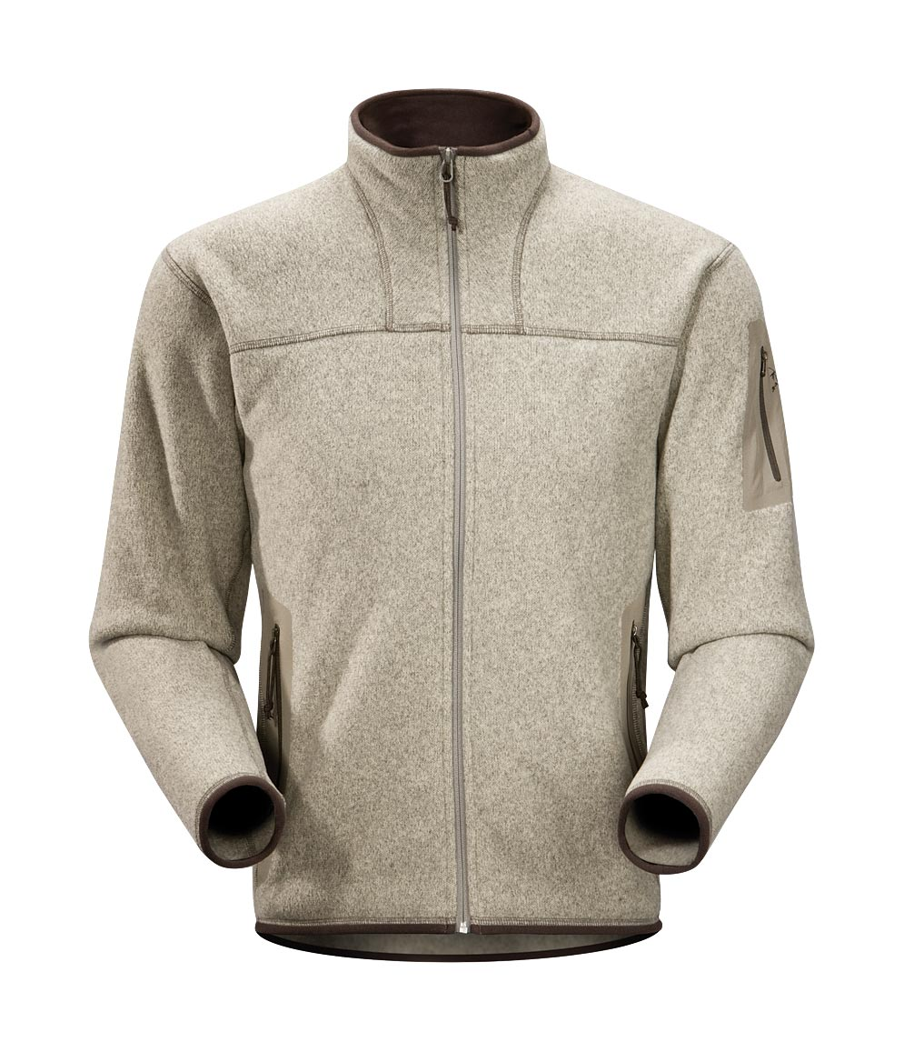 Arcteryx Men Light Carbide Covert Cardigan