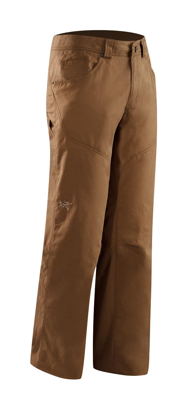 Arcteryx Men Nubian Brown Bastion Pant - New