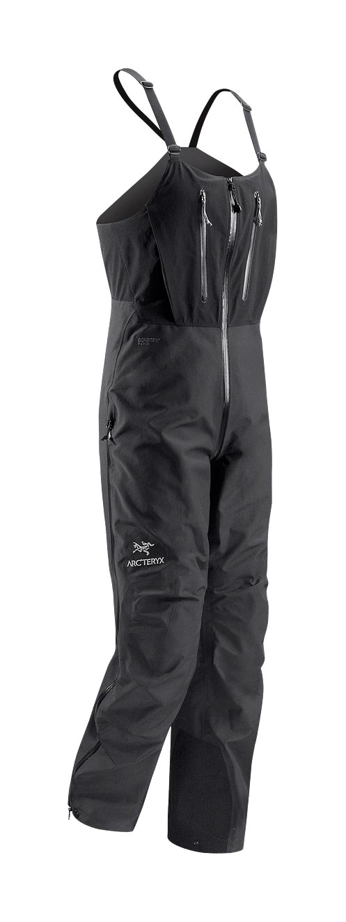 Arcteryx Men Black Alpha SV Bib