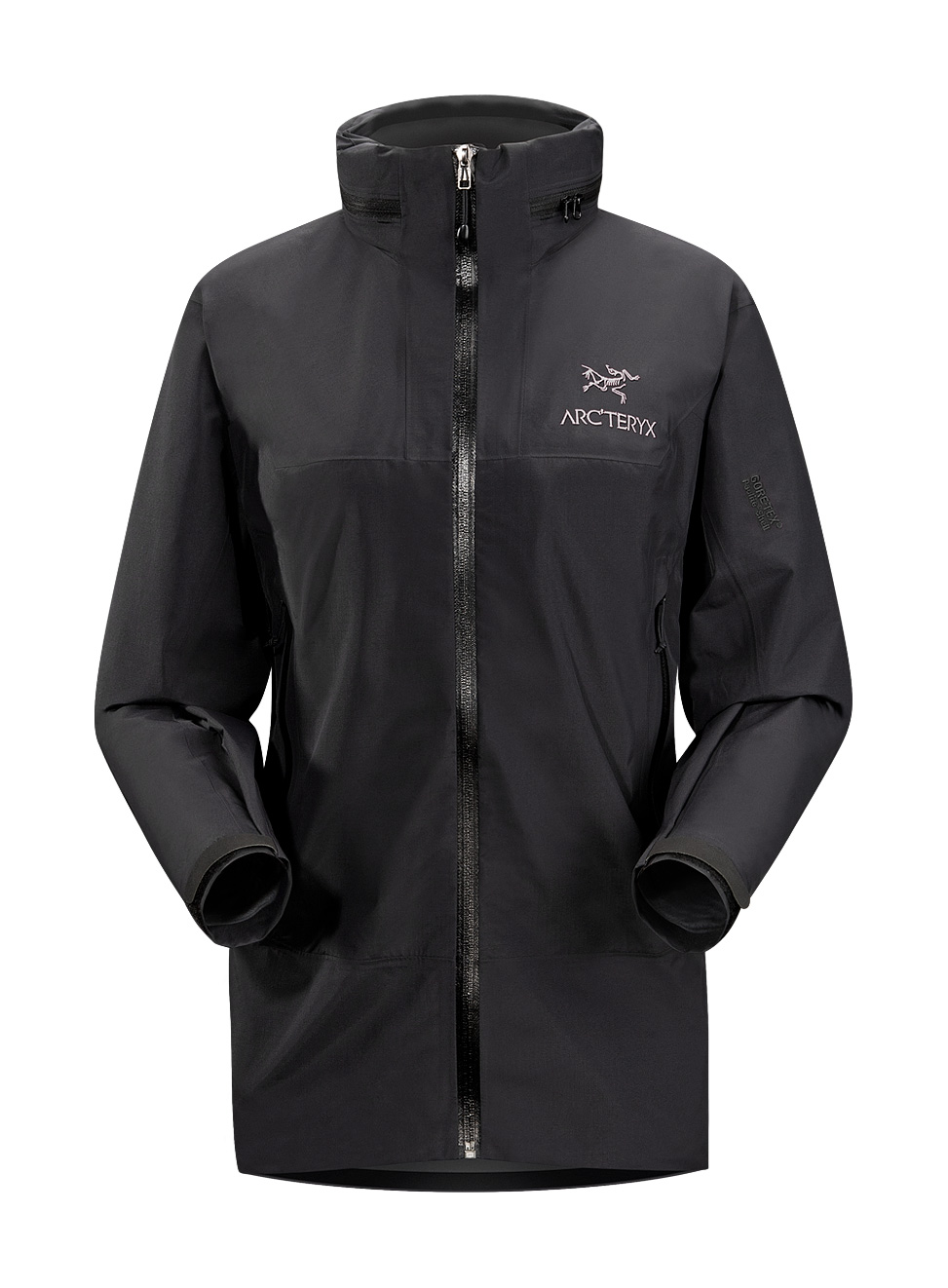 Arcteryx Jackets Women Black/Black Theta SL Hybrid Jacket - New