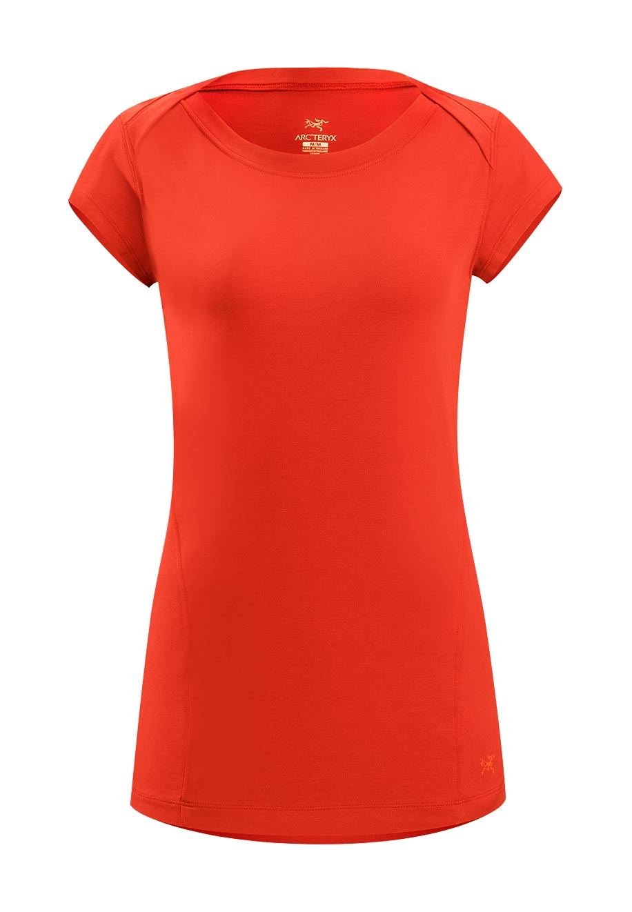 Arcteryx Women Autumn Coral Motive Boatneck SS