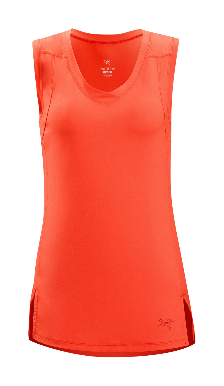 Arcteryx Women Autumn Coral Soltera Sleeveless