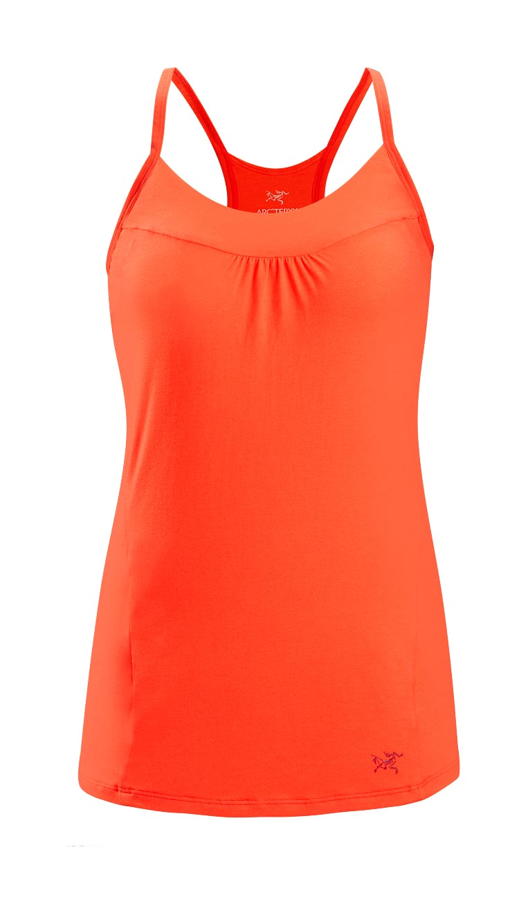 Arcteryx Women Autumn Coral Moveo Strappy Tank