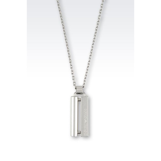 ARMANI STEEL NECKLACE