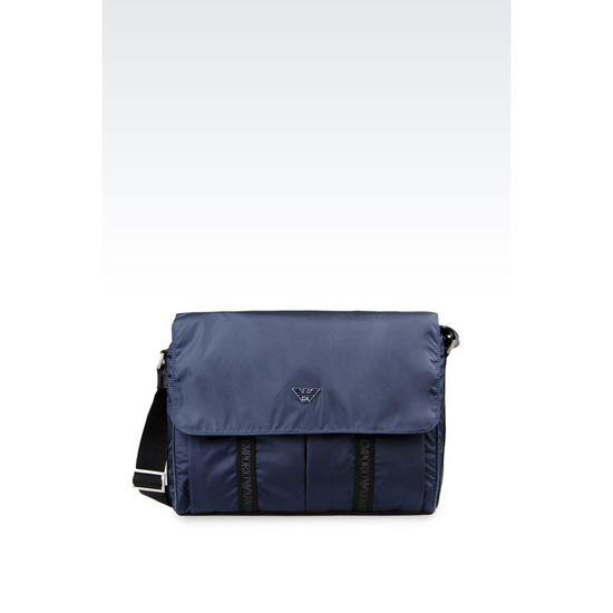 ARMANI MESSENGER BAG IN TECHNICAL FABRIC