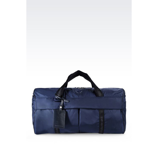 ARMANI HOLDALL IN TECHNICAL FABRIC