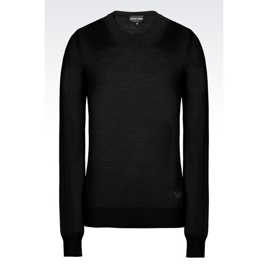 ARMANI SWEATER IN SHAVED WOOL