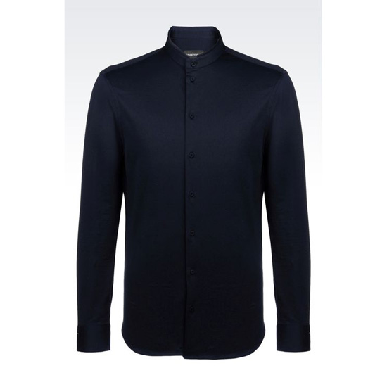 ARMANI SLIM FIT JERSEY SHIRT