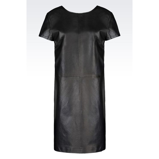 ARMANI DRESS IN NAPA LAMBSKIN