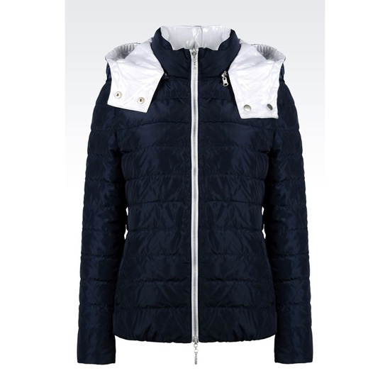 ARMANI REVERSIBLE HOODED DOWN JACKET