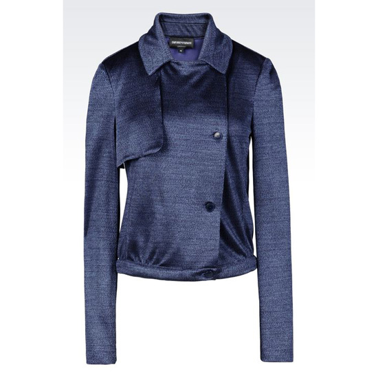 ARMANI RUNWAY BLOUSON IN VISCOSE