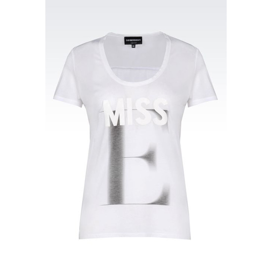 ARMANI T-SHIRT IN COTTON MODAL
