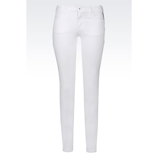 ARMANI SUPER SKINNY JEANS IN STRETCH BULL