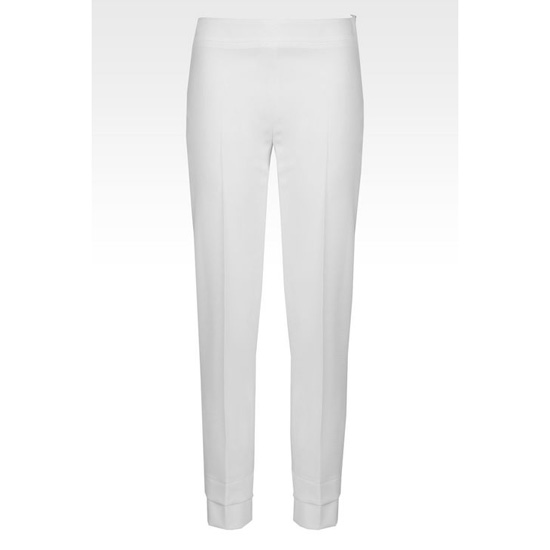ARMANI TROUSERS IN STRETCH MICRO FANCY WEAVE