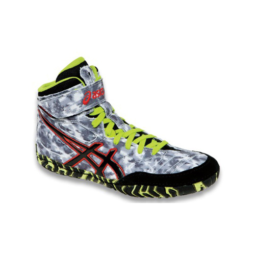 Men's ASICS GUNLAP™ 4607 - Blue Floral/Flash Yellow