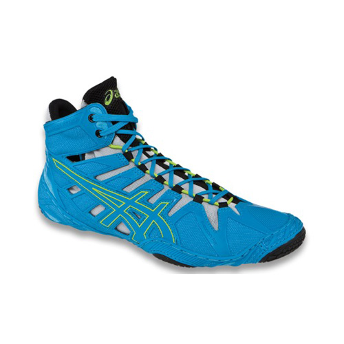 Men's ASICS SONICSPRINT™ ELITE 0743 - Flash Yellow/Deep Blue