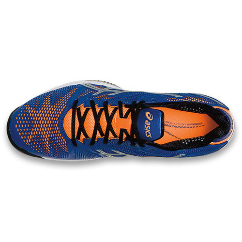 Men\'s ASICS GEL-FUJITRAINER™ 3 7116 - Aluminum/Marigold/Methyl Blue