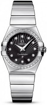 Omega Constellation Polished Quarz Small Watch 158638AE