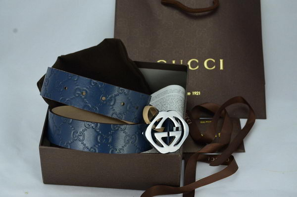 GUCCI Belt CI1063 Blue