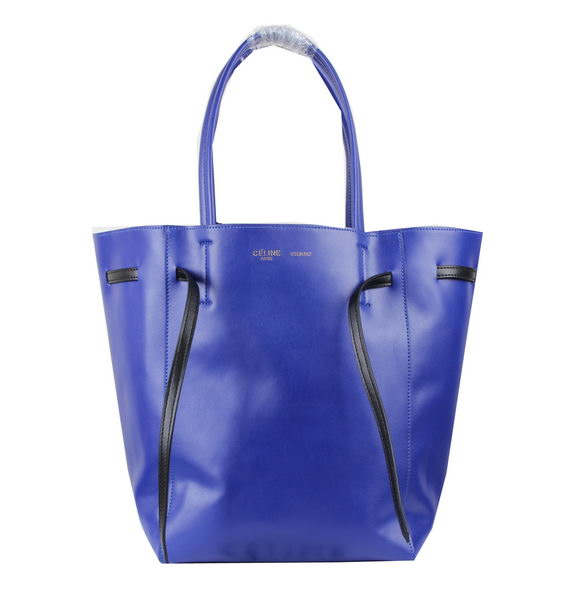 Celine Medium Cabas Phantom Bag Calfskin C3385 Royal