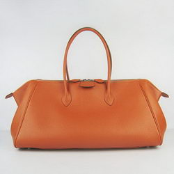 Hermes Jumbo Paris Bombay Bag Orange