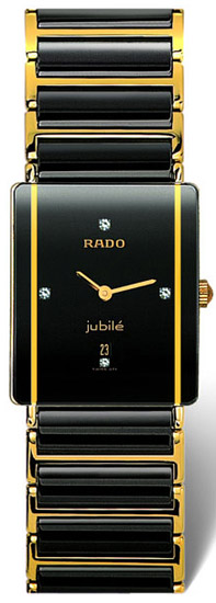 Rado Integral Series Quartz Mens Watch R20282712 in Black