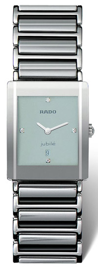 Rado Integral Jubile Series Diamond Silver Mens Watch R20484732