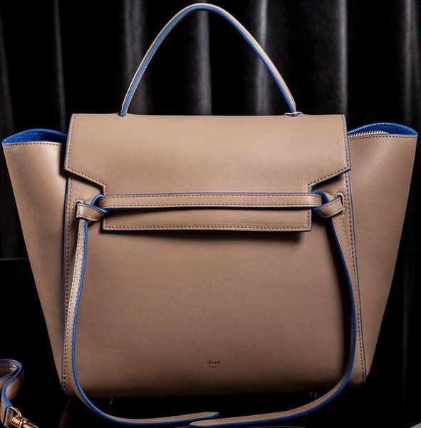 Celine Small Belt Bag Original Leather CLT3346S Khaki&Blue