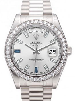Rolex Day Date II Watch 218349A