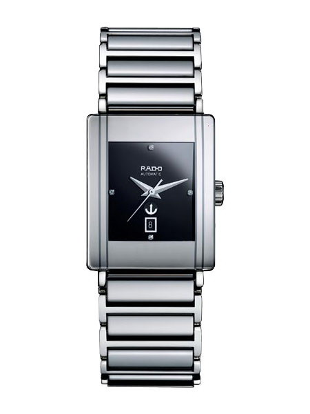 Rado Integral Series Diamond Ceramic Mens Watch R20693722 in Black