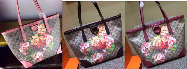 2015 Gucci GG Canvas Top Handle Bag 308604