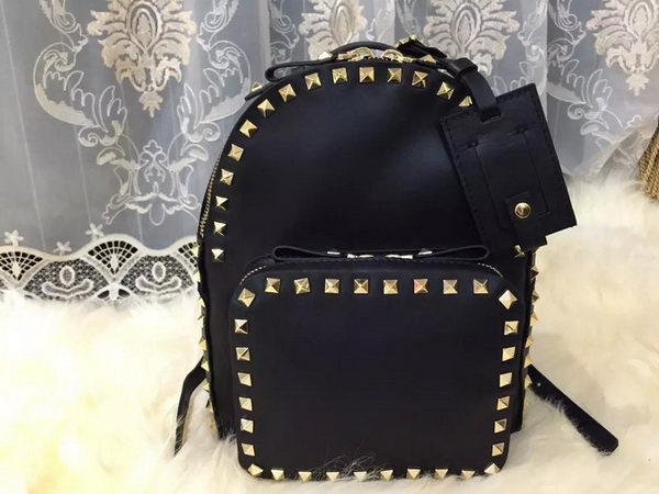 Valentino ROCKSTUD MEDIUM BACKPACK VG34899 Black