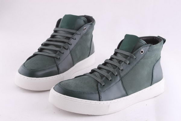 Yves Saint Laurent Casual Shoes Suede Leather YSL236 Green