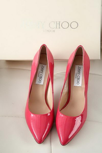 Jimmy Choo Patent Leather Pump JC5102 Peach
