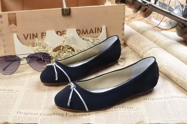 Tods Ballerina Flat Leather TO296 Royal