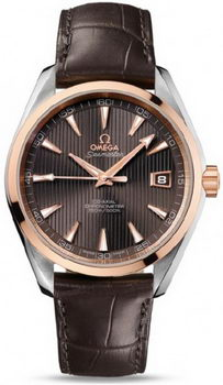 Omega Seamaster Aqua Terra Chronometer Watch 158592D