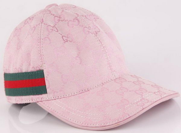 Gucci Peaked Cap GG47 Pink