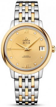 Omega De Ville Prestige Co-Axial Watch 158616J